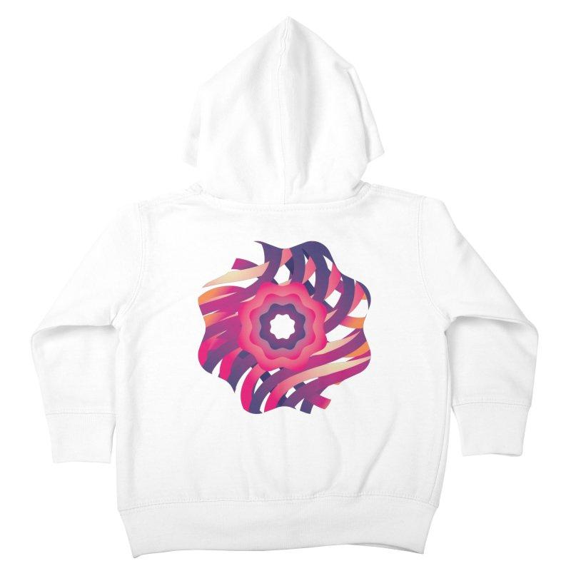Infinite Flowers Kids Toddler Zip-Up Hoody by Softwear
