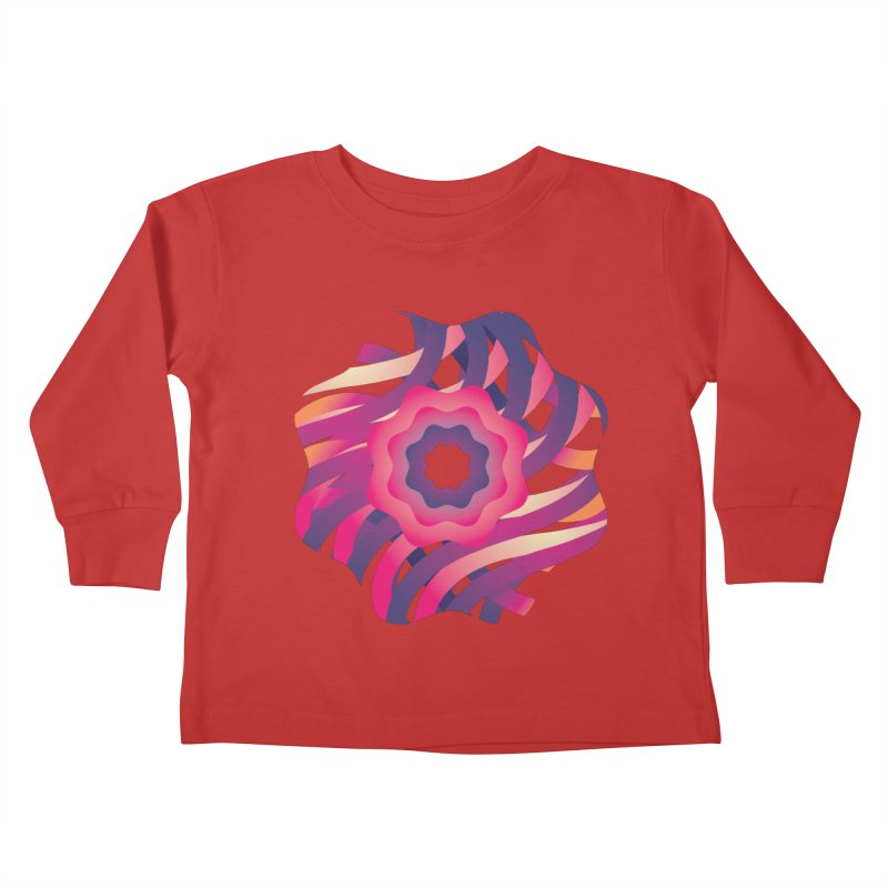 Infinite Flowers Kids Toddler Longsleeve T-Shirt by Softwear