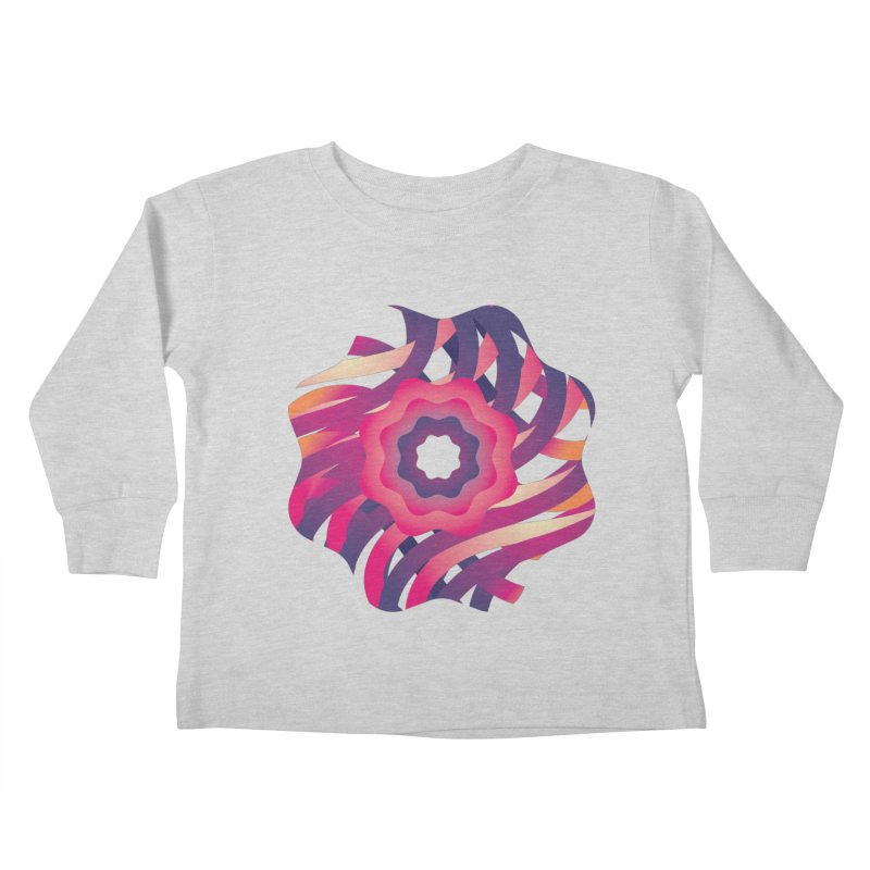 Infinite Flowers Kids Toddler Longsleeve T-Shirt by Softwear