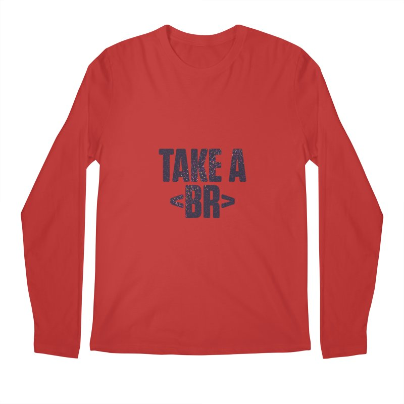 Take a Break (Dark) Men's Longsleeve T-Shirt by Softwear