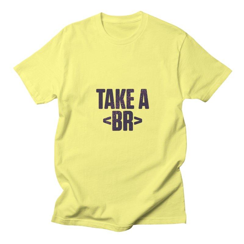 Take a Break (Dark) Men's T-Shirt by Softwear