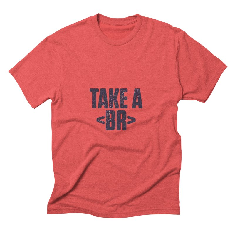 Take a Break (Dark) Men's Triblend T-Shirt by Softwear