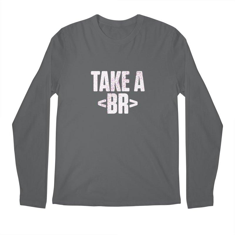 Take A Break (Light) Men's Longsleeve T-Shirt by Softwear