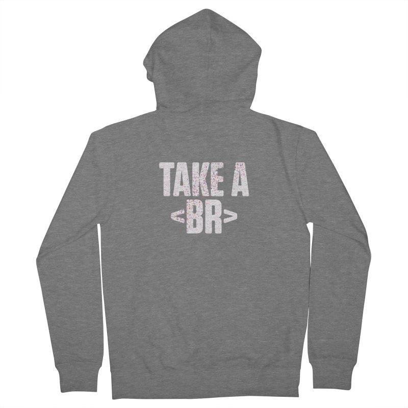 Take A Break (Light) Men's Zip-Up Hoody by Softwear
