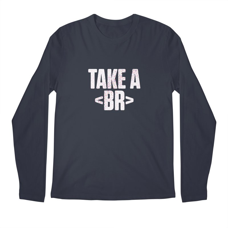 Take A Break (Light) Men's Regular Longsleeve T-Shirt by Softwear