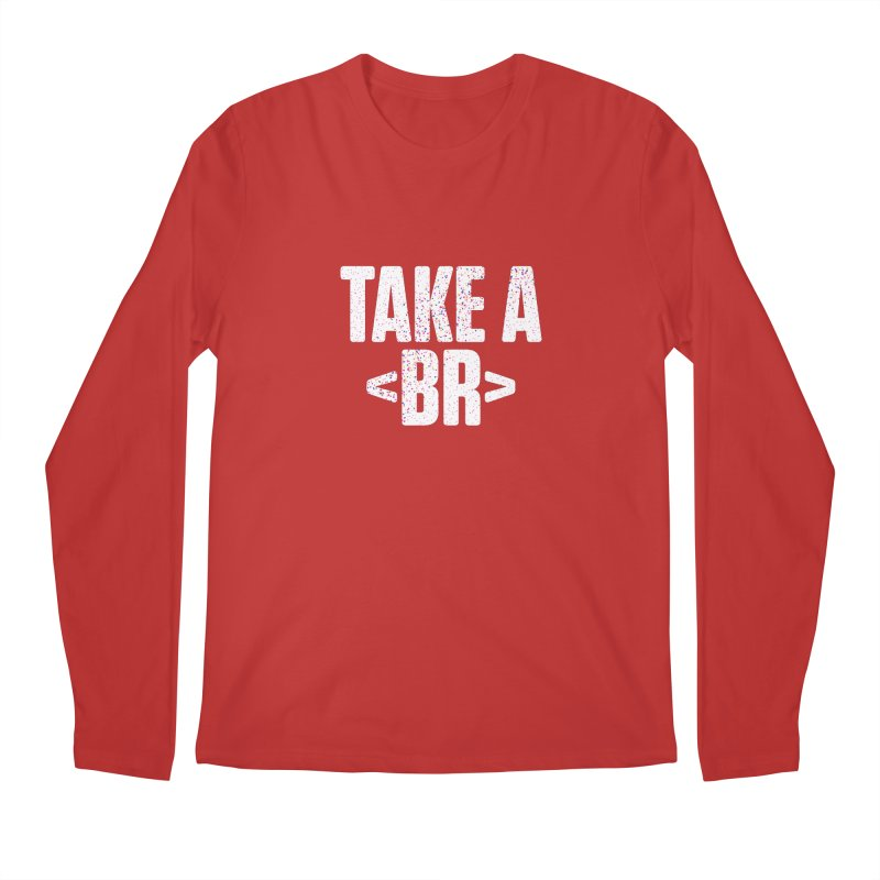 Take A Break (Light) Men's Regular Longsleeve T-Shirt by Softwear