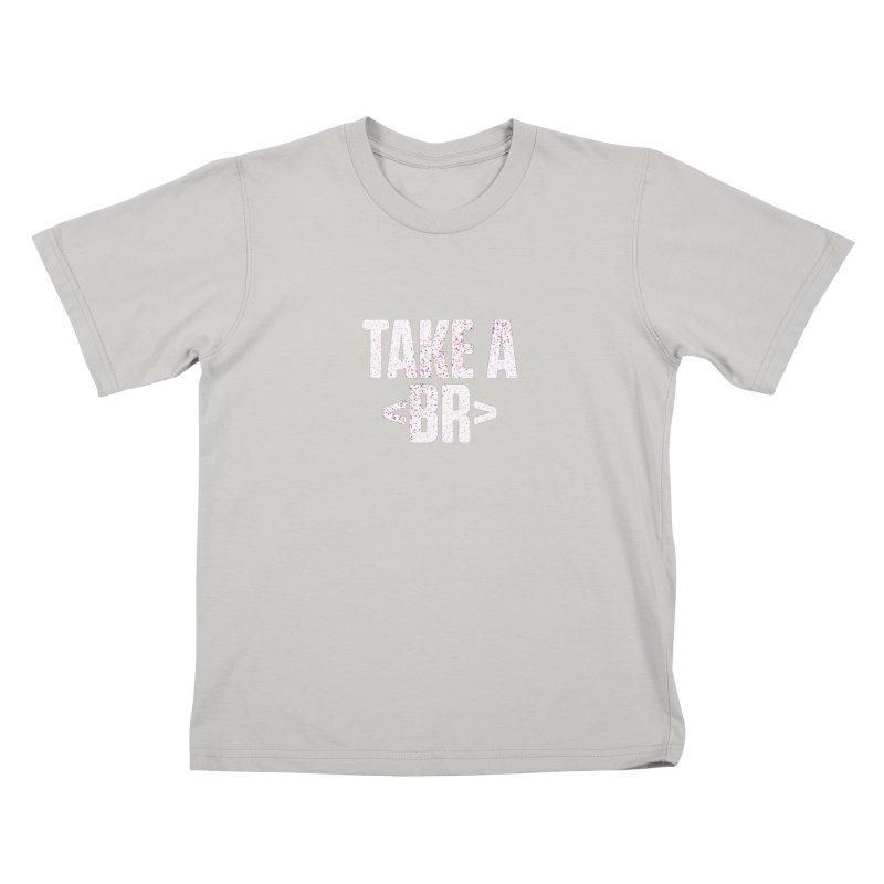 Take A Break (Light) Kids T-Shirt by Softwear