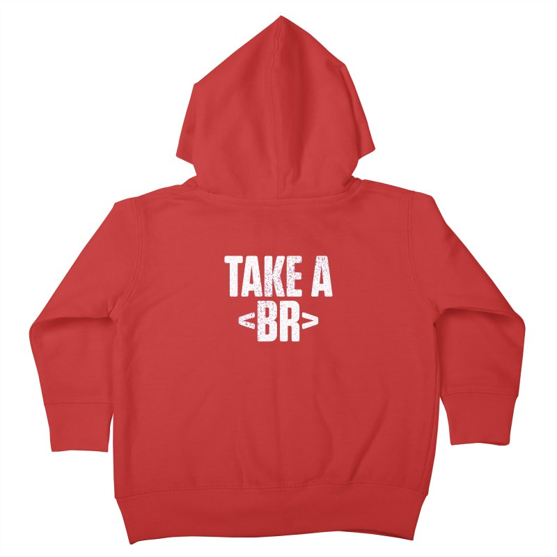 Take A Break (Light) Kids Toddler Zip-Up Hoody by Softwear