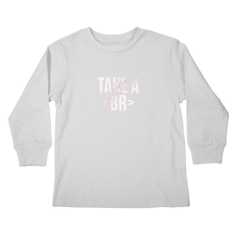 Take A Break (Light) Kids Longsleeve T-Shirt by Softwear
