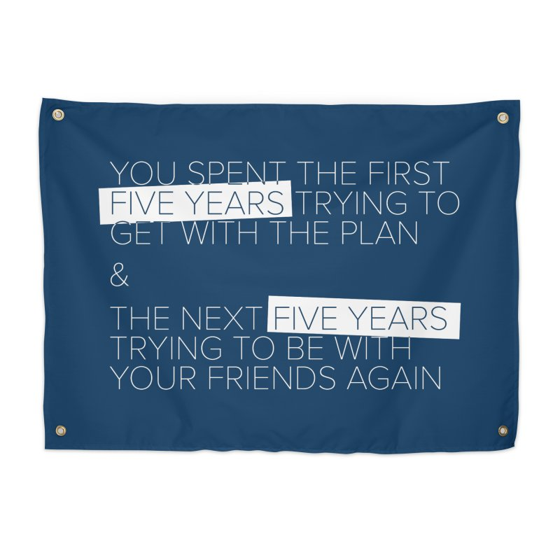 All Your Friends Home Tapestry by Softwear