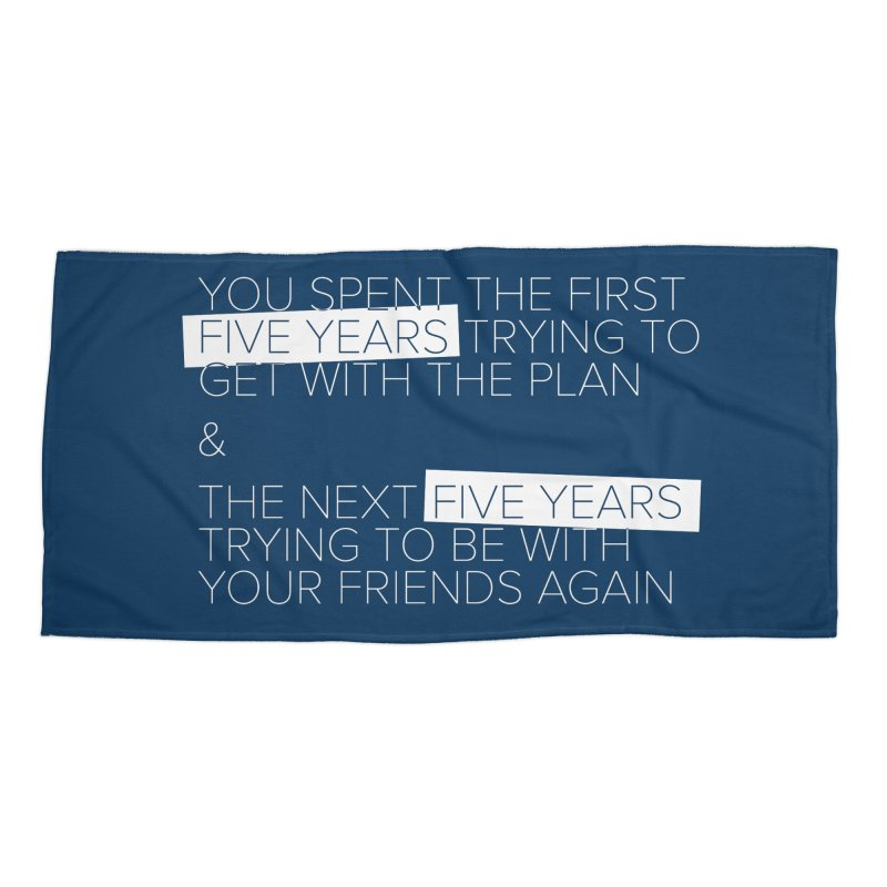 All Your Friends Accessories Beach Towel by Softwear
