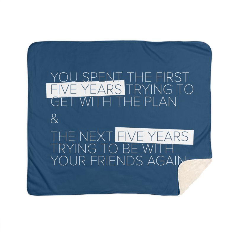 All Your Friends Home Blanket by Softwear