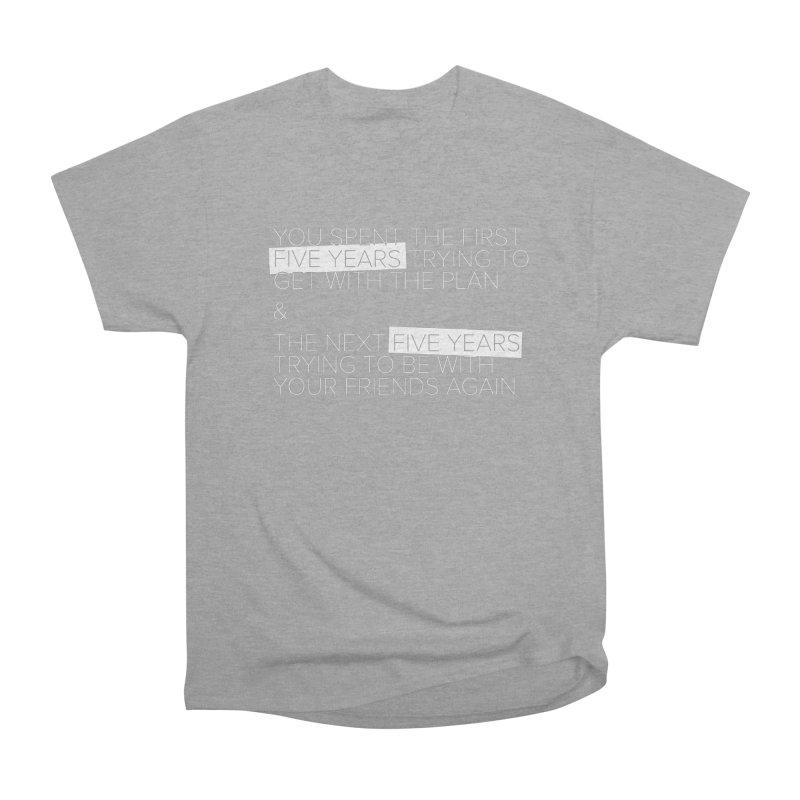 All Your Friends Men's Heavyweight T-Shirt by Softwear
