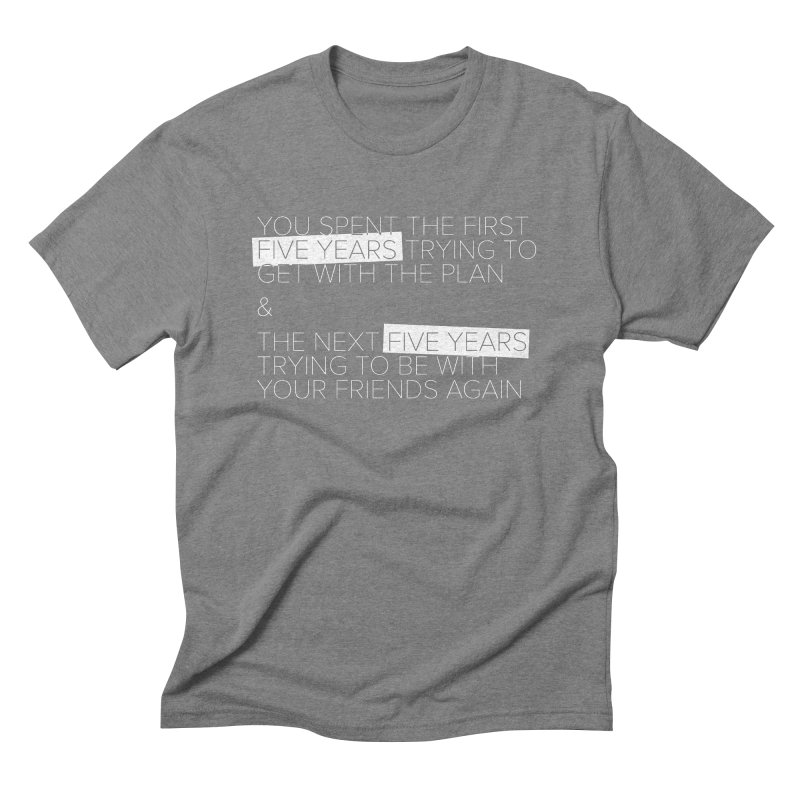 All Your Friends Men's Triblend T-Shirt by Softwear