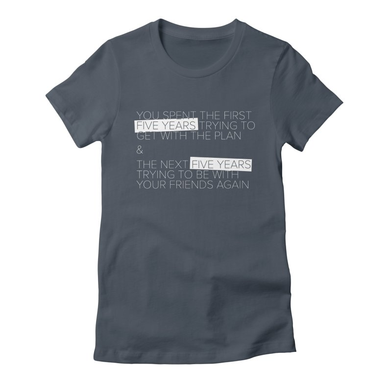 All Your Friends Women's Fitted T-Shirt by Softwear