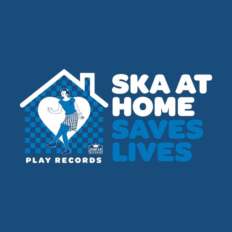 Ska at Home Saves Lives Men's T-Shirt by destroybrandgraphics's Artist Shop