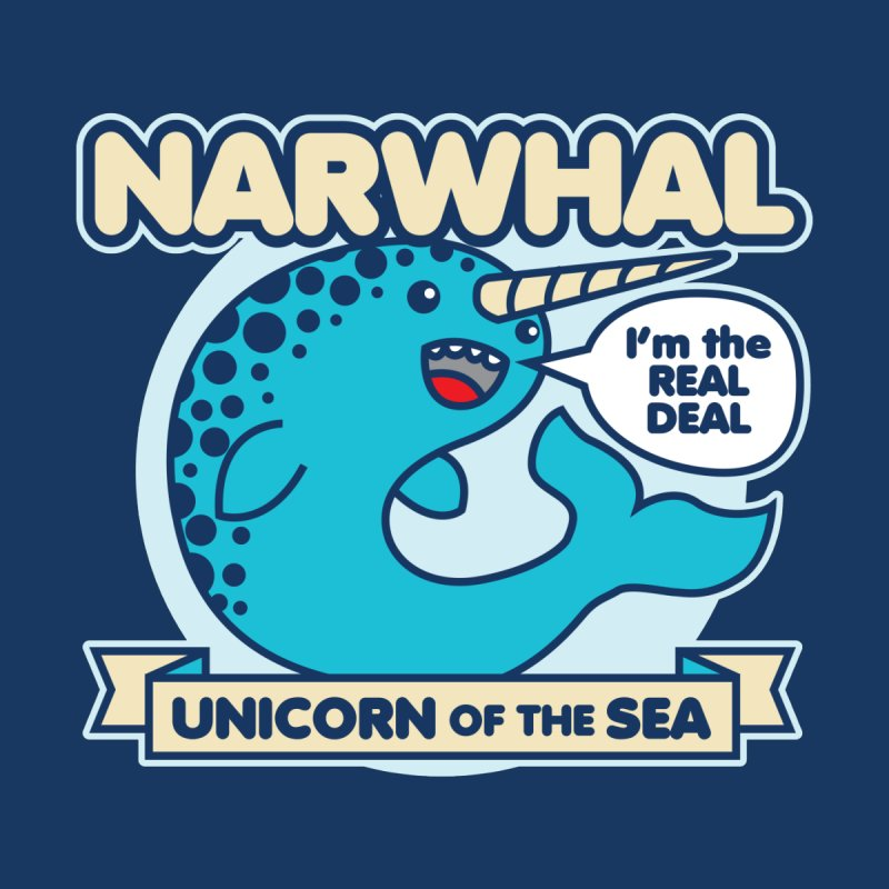 Narwhal Kids Baby Bodysuit by detourshirts's Artist Shop