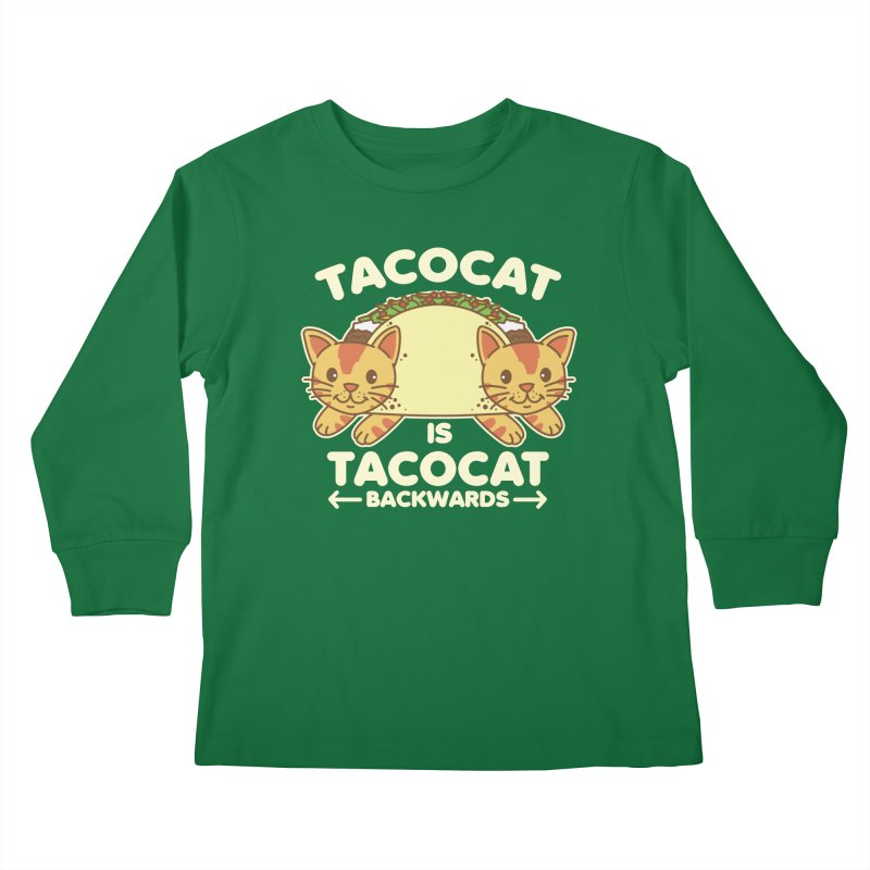 Tacocat Kids Longsleeve T-Shirt by Detour Shirt's Artist Shop