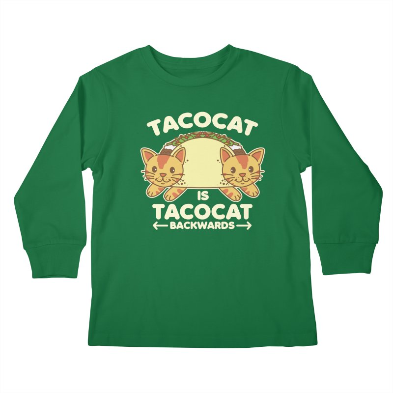 Tacocat Kids Longsleeve T-Shirt by detourshirts's Artist Shop