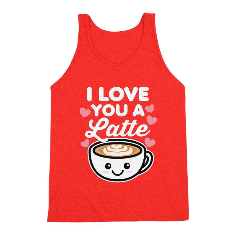 I Love You A Latte Men's Tank by Detour Shirt's Artist Shop