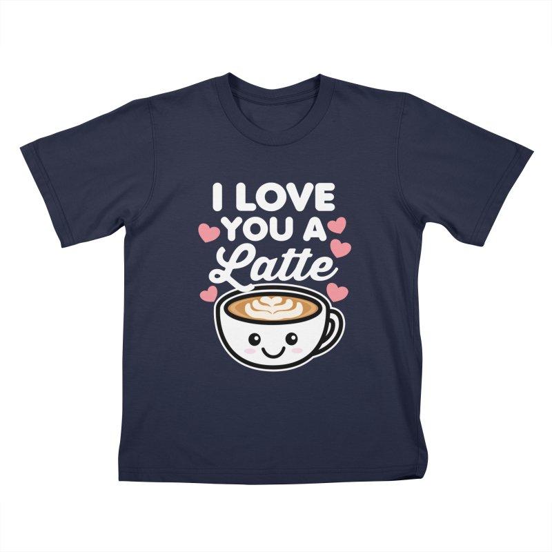 I Love You A Latte Kids T-Shirt by Detour Shirt's Artist Shop