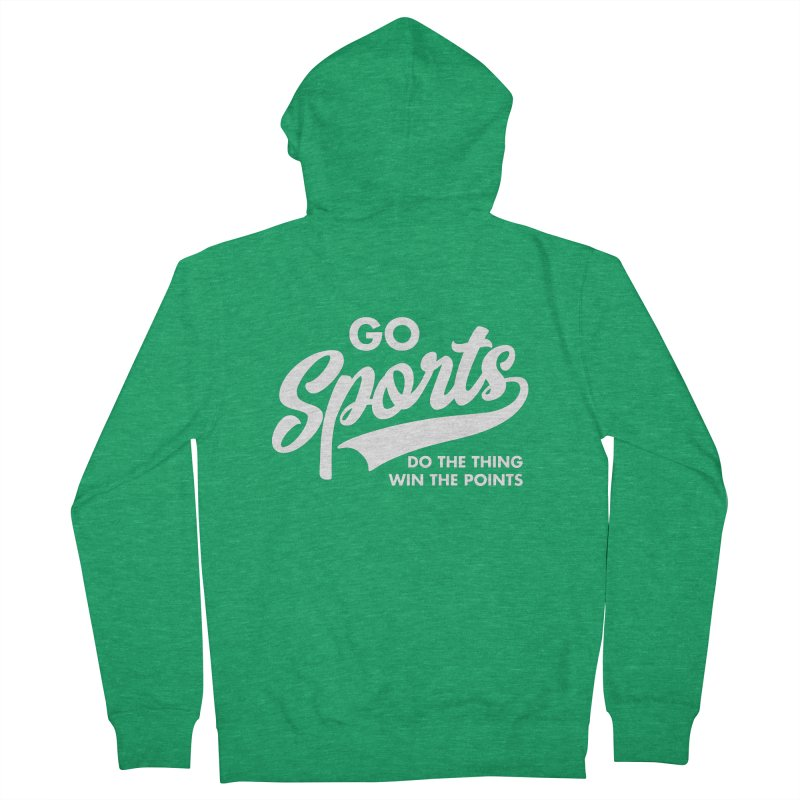 Go Sports Do the Thing Win the Points Men's Zip-Up Hoody by Detour Shirt's Artist Shop
