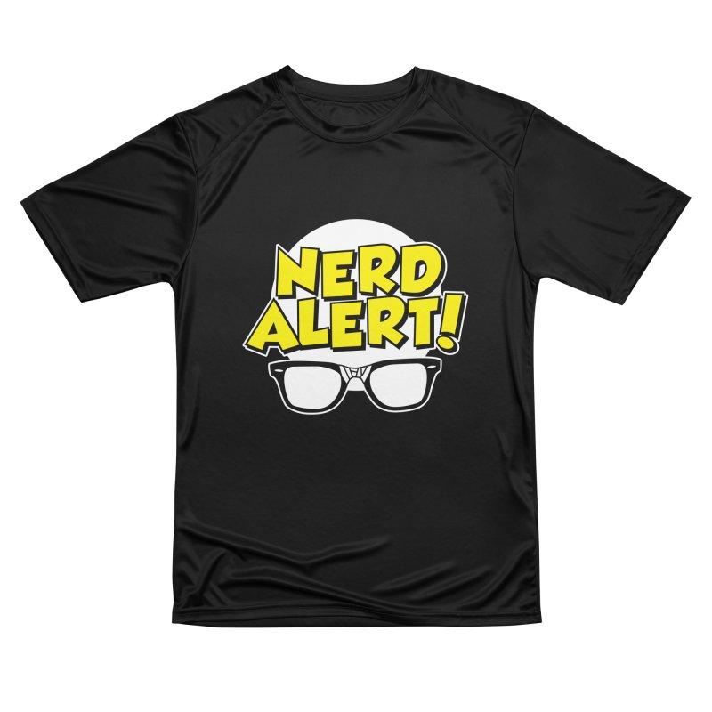 Nerd Alert Funny Glasses Smart Saying Women's T-Shirt by Detour Shirt's Artist Shop