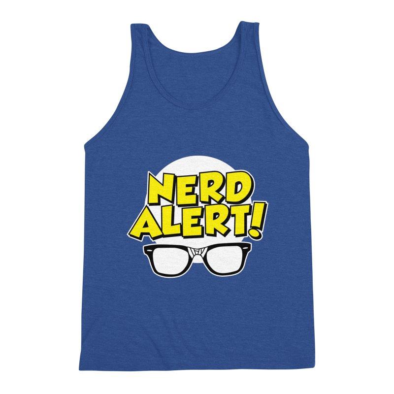 Nerd Alert Funny Glasses Smart Saying Men's Tank by Detour Shirt's Artist Shop