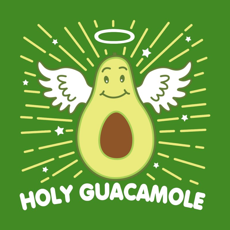 Holy Guacamole Avocado Kawaii Angel Men's Longsleeve T-Shirt by Detour Shirt's Artist Shop