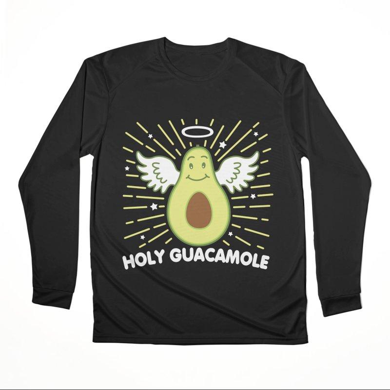 Holy Guacamole Avocado Kawaii Angel Men's Longsleeve T-Shirt by Detour Shirt's Artist Shop