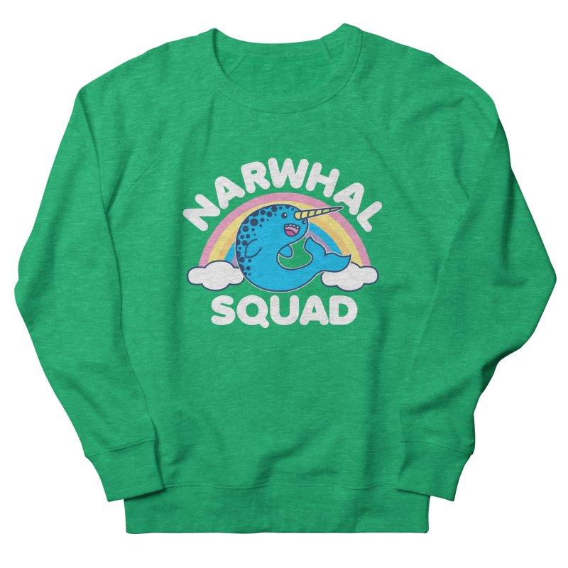 Narwhal Squad Cute Kawaii Unicorn Rainbow Women's Sweatshirt by Detour Shirt's Artist Shop