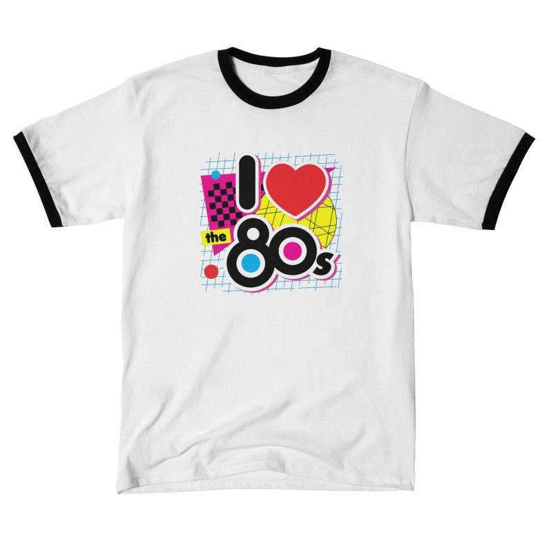 I Love The 80s Men's T-Shirt by Detour Shirt's Artist Shop