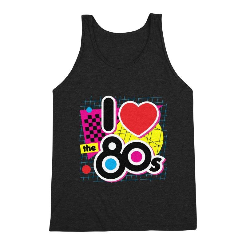 I Love The 80s Men's Tank by Detour Shirt's Artist Shop