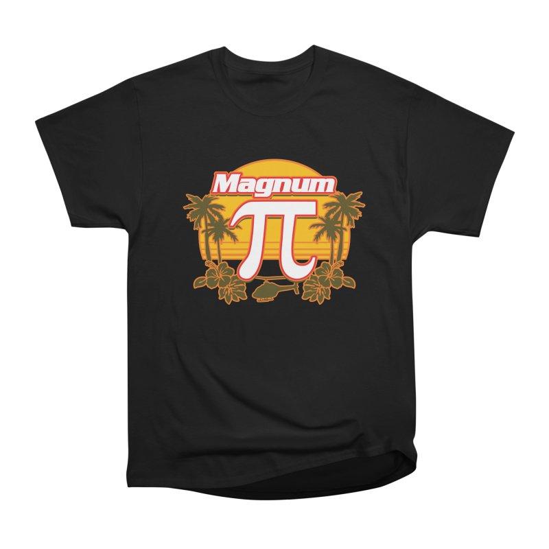 Magnum Pi Hawaiian Pi Day Design Men's T-Shirt by Detour Shirt's Artist Shop