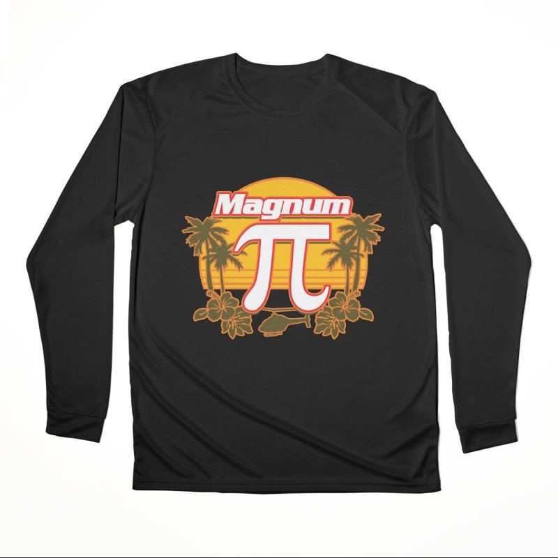 Magnum Pi Hawaiian Pi Day Design Men's Longsleeve T-Shirt by Detour Shirt's Artist Shop