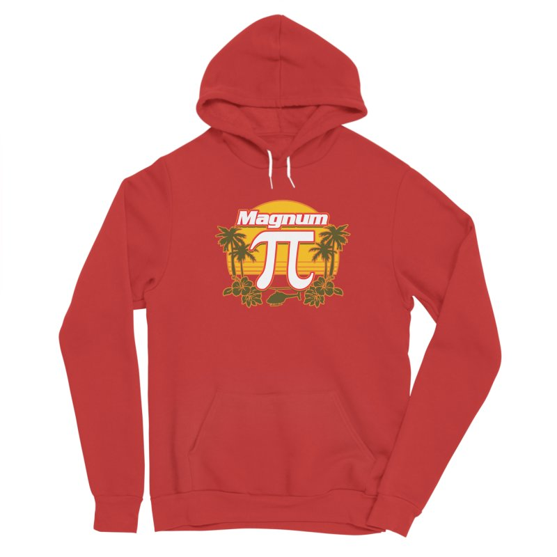 Magnum Pi Hawaiian Pi Day Design Women's Pullover Hoody by Detour Shirt's Artist Shop
