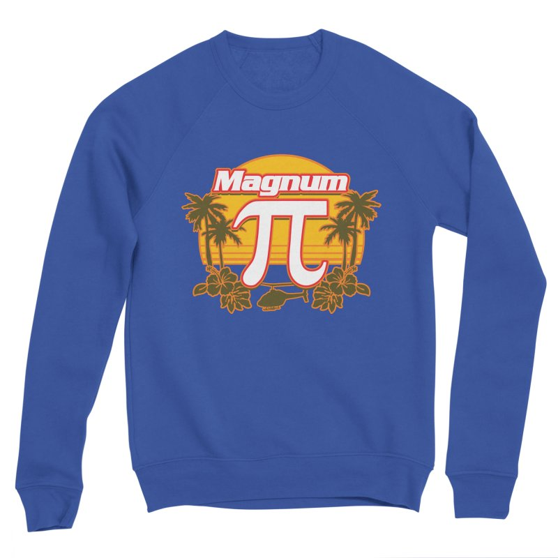Magnum Pi Hawaiian Pi Day Design Men's Sweatshirt by Detour Shirt's Artist Shop
