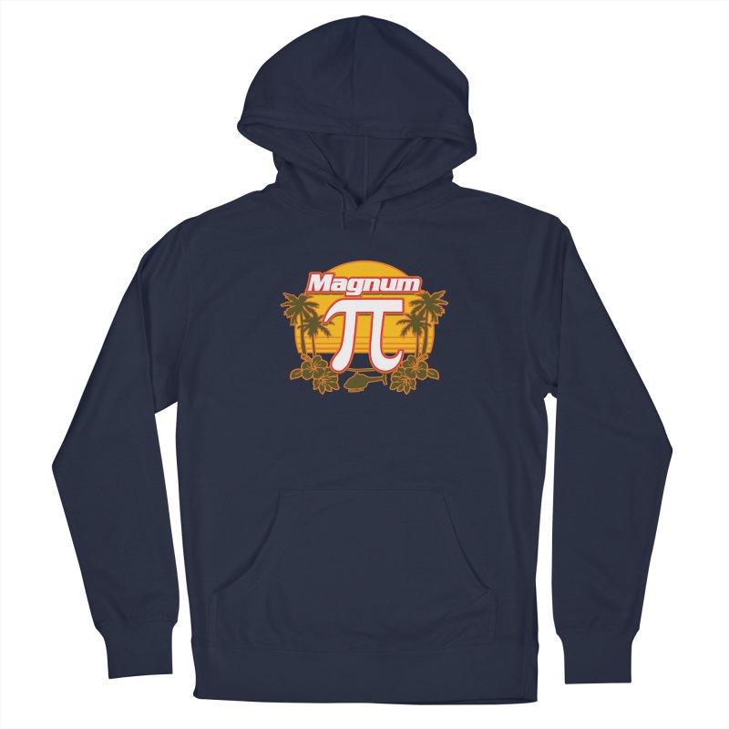 Magnum Pi Hawaiian Pi Day Design Men's Pullover Hoody by Detour Shirt's Artist Shop