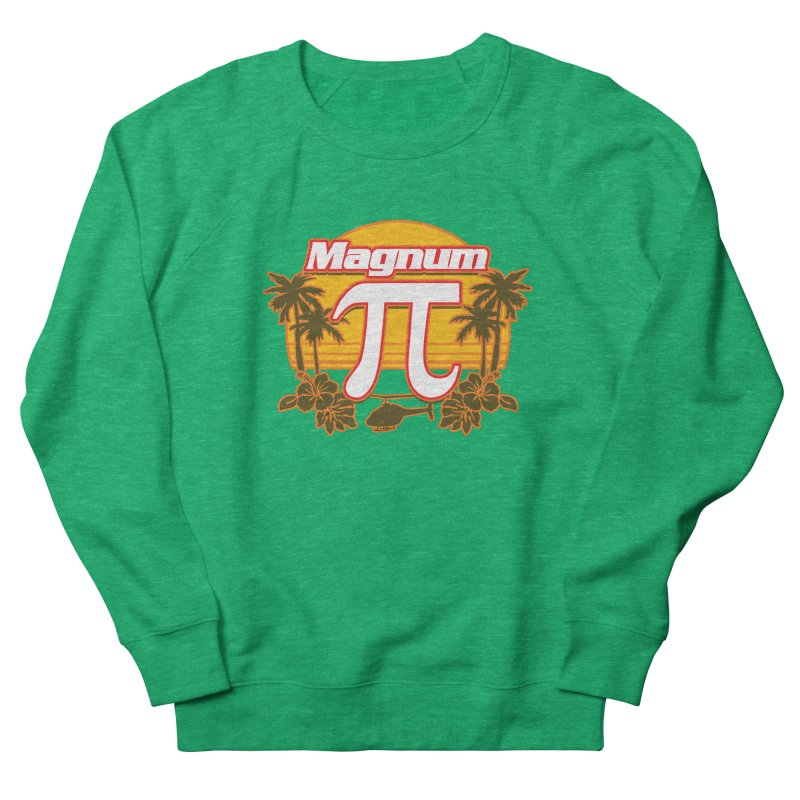 Magnum Pi Hawaiian Pi Day Design Women's Sweatshirt by Detour Shirt's Artist Shop
