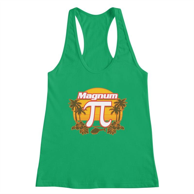 Magnum Pi Hawaiian Pi Day Design Women's Tank by Detour Shirt's Artist Shop