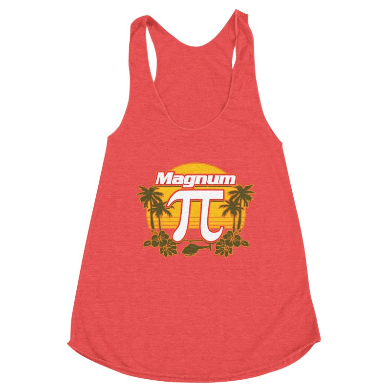 Magnum Pi Hawaiian Pi Day Design Women's Tank by Detour Shirt's Artist Shop