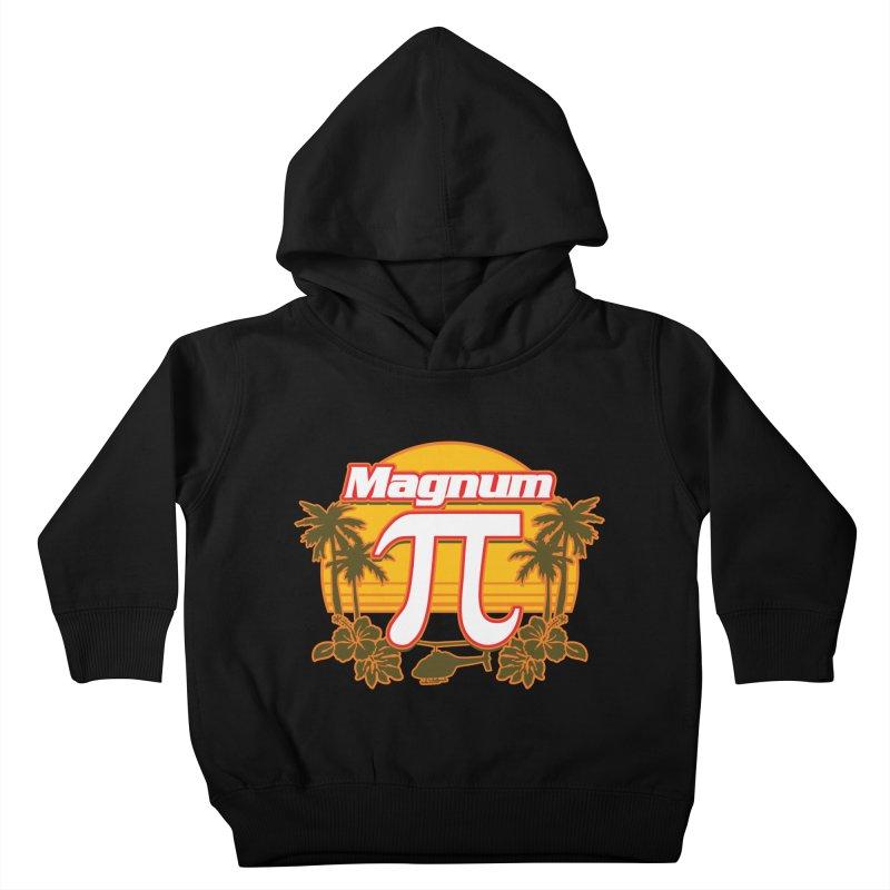 Magnum Pi Hawaiian Pi Day Design Kids Toddler Pullover Hoody by Detour Shirt's Artist Shop