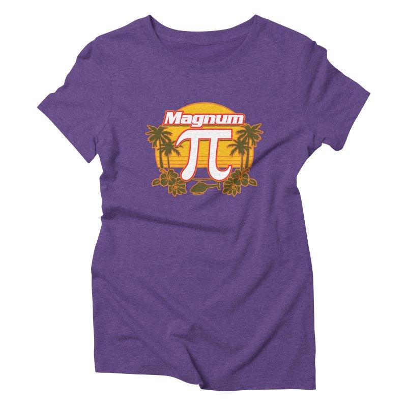 Magnum Pi Hawaiian Pi Day Design Women's T-Shirt by Detour Shirt's Artist Shop
