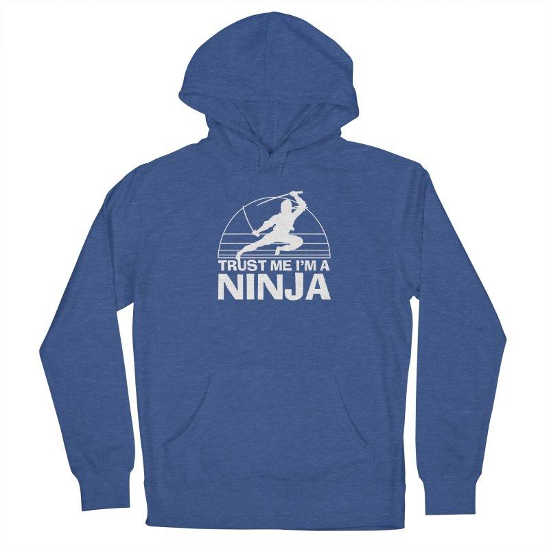 Trust Me I'm a Ninja Vintage Silent but Deadly Men's Pullover Hoody by Detour Shirt's Artist Shop