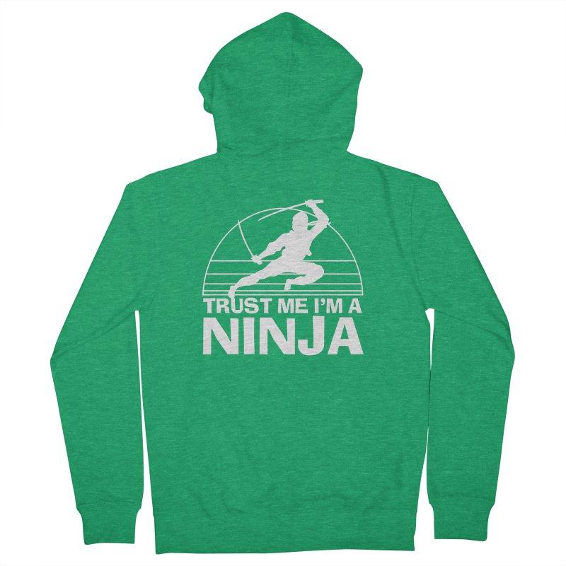 Trust Me I'm a Ninja Vintage Silent but Deadly Men's Zip-Up Hoody by Detour Shirt's Artist Shop