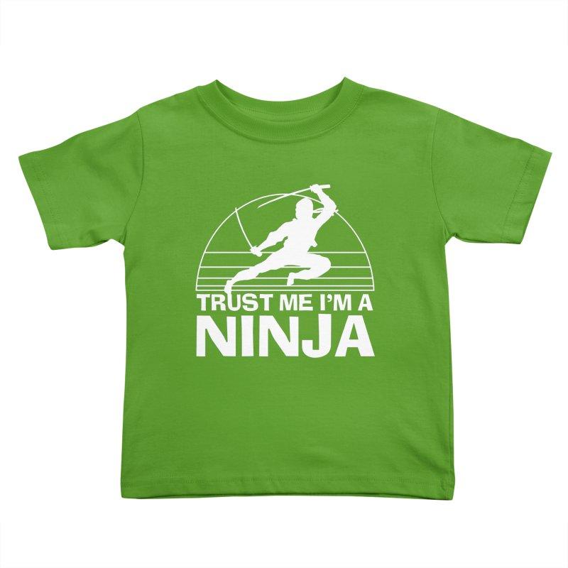 Trust Me I'm a Ninja Vintage Silent but Deadly Kids Toddler T-Shirt by Detour Shirt's Artist Shop