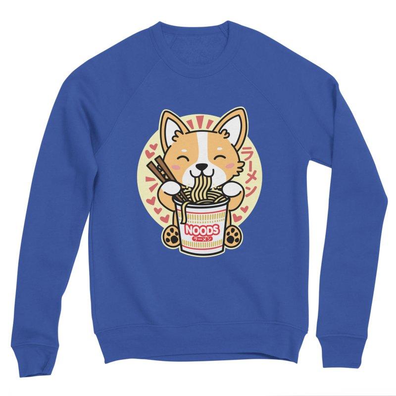 Corgi Eating Instant Noodles Women's Sweatshirt by Detour Shirt's Artist Shop