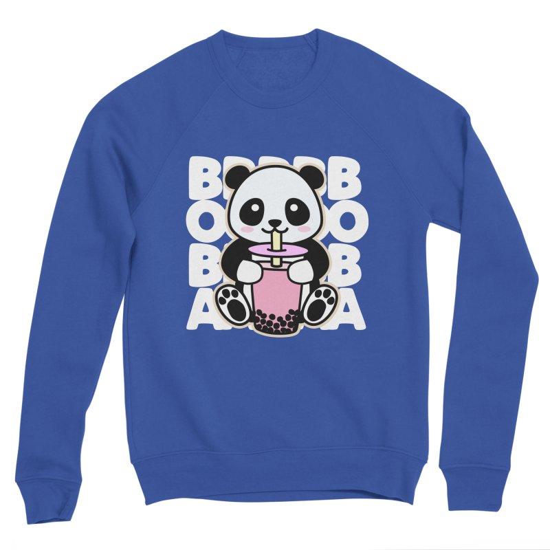 Panda Drinking Boba Men's Sweatshirt by Detour Shirt's Artist Shop
