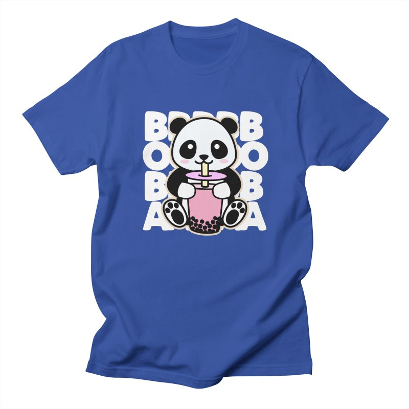 Panda Drinking Boba Women's T-Shirt by Detour Shirt's Artist Shop
