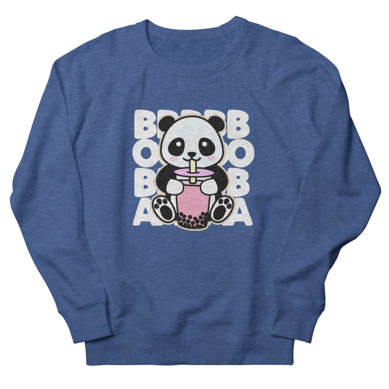 Panda Drinking Boba Women's Sweatshirt by Detour Shirt's Artist Shop